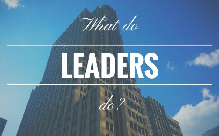Berbagai Hal yang Harus Diperhatikan oleh Para Pemimpin