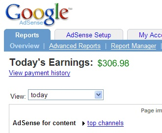 Adsense With Blogging