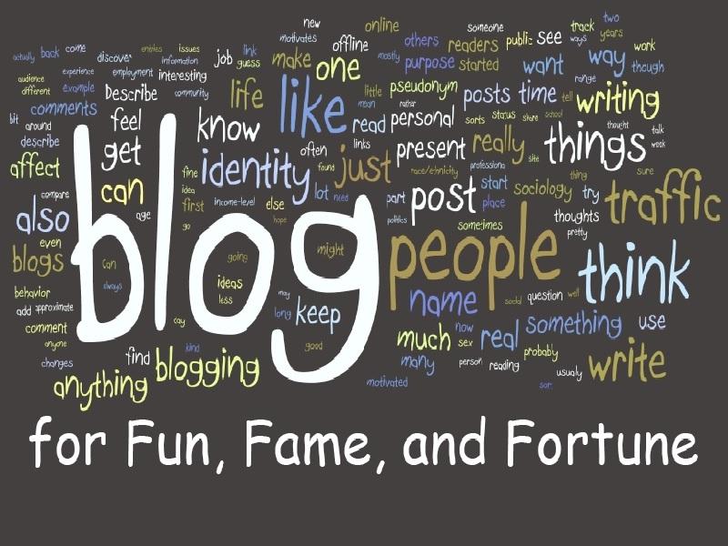 Hal Yang Terpenting Untuk Diperhatikan Dalam Blogging